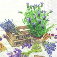 Servietten 25x25 cm - THE FLAVOUR OF PROVENCE