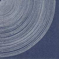 Servietten 25x25 cm - FOKUS dark blue