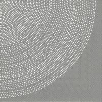 Servietten 25x25 cm - FOKUS grey