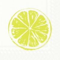 Servietten 25x25 cm - LEMON BAR lime