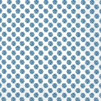 Servietten 25x25 cm - CUTE PATTERN white dark blue