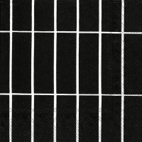 Servietten 25x25 cm - TIILISKIVI black