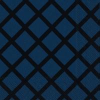 Servietten 25x25 cm - QUILT dark blue