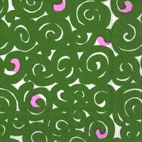Servietten 25x25 cm - SONAATTI green