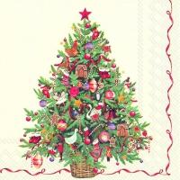 Servietten 25x25 cm - Weihnachtsbaum