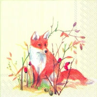 Servietten 25x25 cm - AUTUMN WILDLIFE