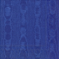 Servietten 25x25 cm - MOIREE blue