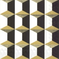 Servietten 25x25 cm - ARISTOCRAT Gold