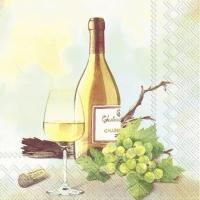 Servietten 25x25 cm - A GOOD WINE