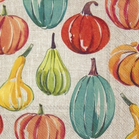 Servietten 25x25 cm - PUMPKIN TIME