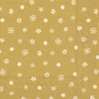 Servietten 25x25 cm - Kleines JOY Gold