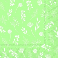 Servietten 25x25 cm - TILDA light green