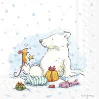 Servietten 25x25 cm - ICY X-MAS FOR YOU