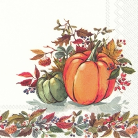 Servietten 25x25 cm - FALL PUMPKINS