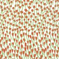 Servietten 25x25 cm - APILAINEN white red