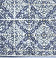 Servietten 25x25 cm - LORENZO blue