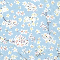 Servietten 25x25 cm - HARMONY FOREVER light blue