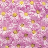 Servietten 25x25 cm - SPRING FOREVER pink