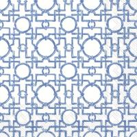 Servietten 25x25 cm - AIKO blue