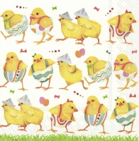 Servietten 25x25 cm - CHICKS ON CATWALK