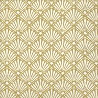 Servietten 25x25 cm - ROCAILLE white gold