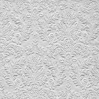 Servietten 25x25 cm - CAMEO UNI silber