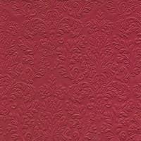 Servietten 33x33 cm - CAMEO UNI rot