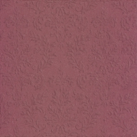 Servietten 33x33 cm - CAMEO UNI dark red
