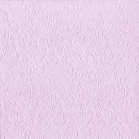Servietten 33x33 cm - CAMEO UNI light rose