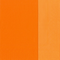 Servietten 33x33 cm - DOUBLO orange