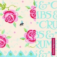 Servietten 33x33 cm - Rose and Bee