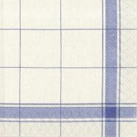 Servietten 33x33 cm - Country Living - blau