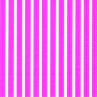 Servietten 33x33 cm - STRIPES AGAIN pink