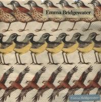 Servietten 33x33 cm - Britische Vögel