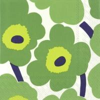 Servietten 33x33 cm - UNIKKO green