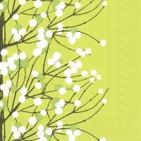 Servietten 33x33 cm - LUMIMARJA light green
