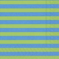 Servietten 33x33 cm - TASARAITA green blue