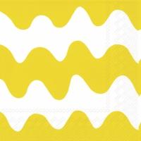 Lunch Servietten LOKKI light yellow