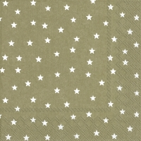 Servietten 33x33 cm - LITTLE STARS linen