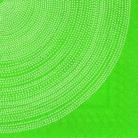 Servietten 33x33 cm - FOKUS grün