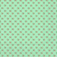 Servietten 33x33 cm - CUTE PATTERN blue green
