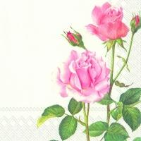 Servietten 33x33 cm - A ROSE FOR YOU