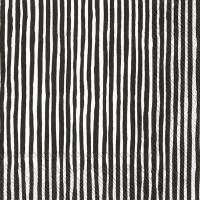 Servietten 33x33 cm - VARVUNRAITA white black