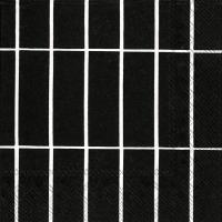Servietten 33x33 cm - TIILISKIVI black