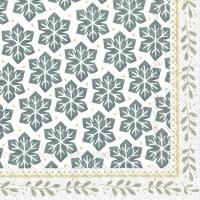 Servietten 33x33 cm - GRETA white linen