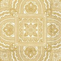 Servietten 33x33 cm - CLASSIQUE cream gold