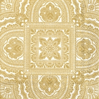 Servietten 33x33 cm - CLASSIQUE cremefarbenes Gold