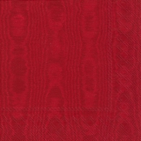 Servietten 33x33 cm - MOIREE red