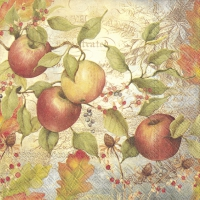 Servietten 33x33 cm - APPLE