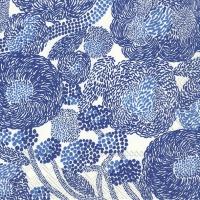 Servietten 33x33 cm - MYNSTERI creme blau